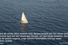 navega lejos de puerto seguro