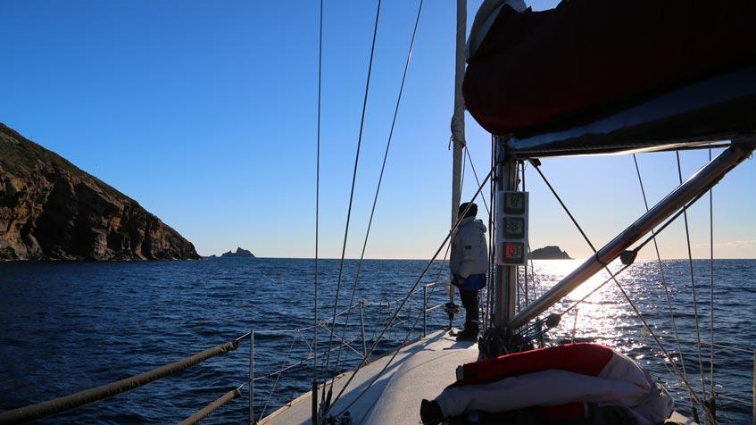 Navegando por las Islas Columbretes