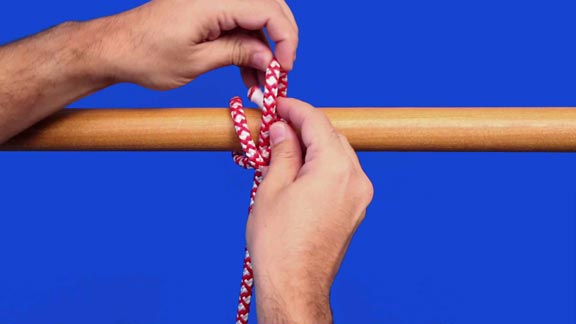 nudo constrictor paso 5