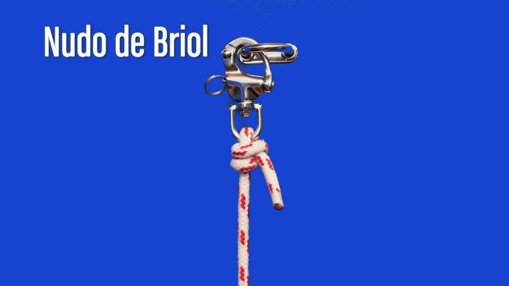 Nudo de Briol. Video tutorial de como hacer nudos marineros.