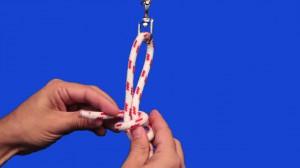Como hacer el nudo de ocho corredizo