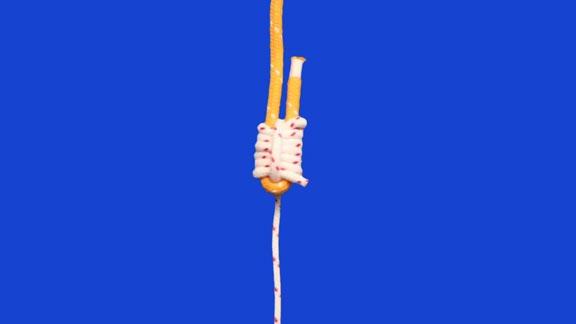 nudo ligada redonda paso 11