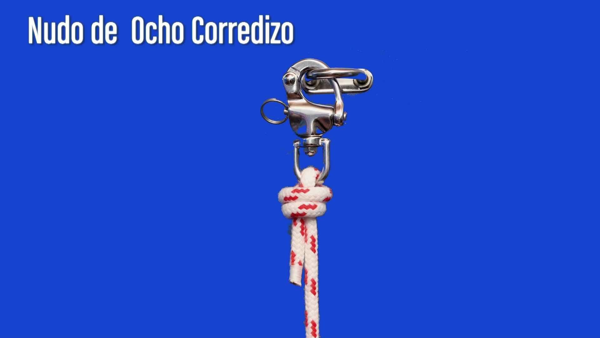 NUDO DE OCHO CORREDIZO
