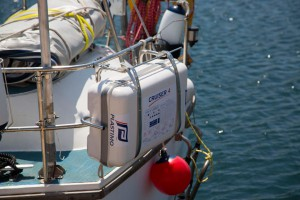 Sistemas de sujeción para balsas salvavidas