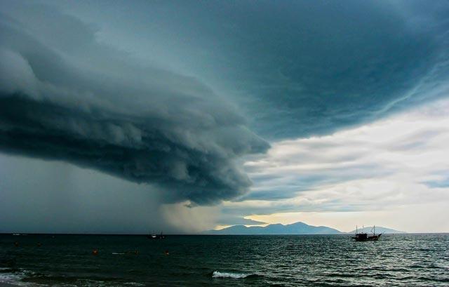 Reconocer una tormenta eléctrica