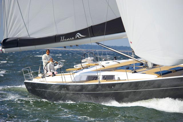 Hanse yatchs 575