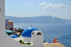 Santorini vistas desde Oia