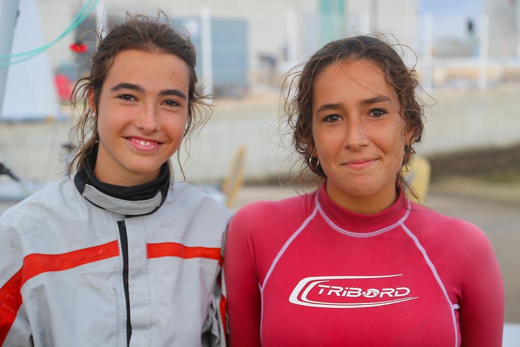 Marta Garrido y Marta Rodríguez, campeonas de España 420