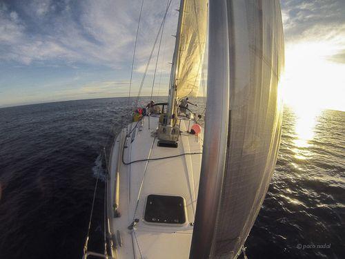 Navegación a Kapingamarangi