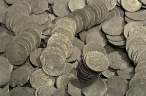 Monedas de plata de ocho reales