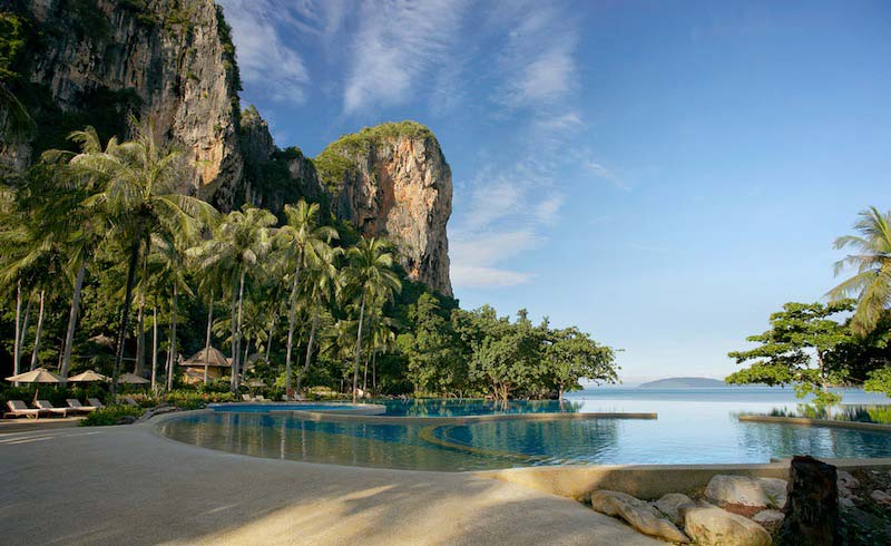 Hotel Rayavadee piscina