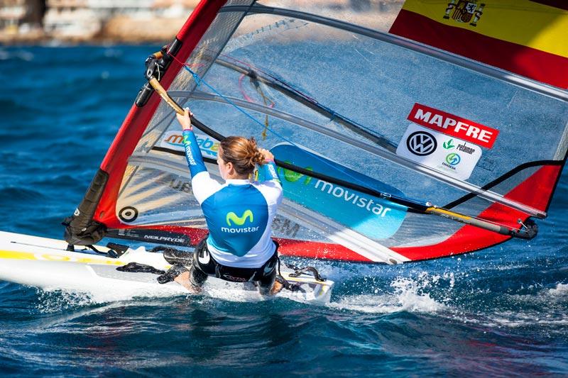 Marina Alabau mundial Santander de vela