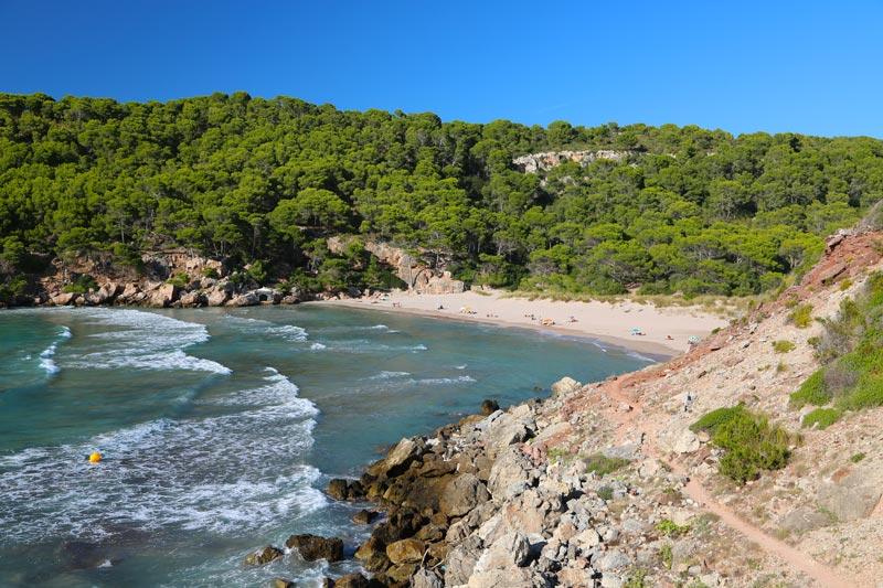 Menorca playa de Algaraiens