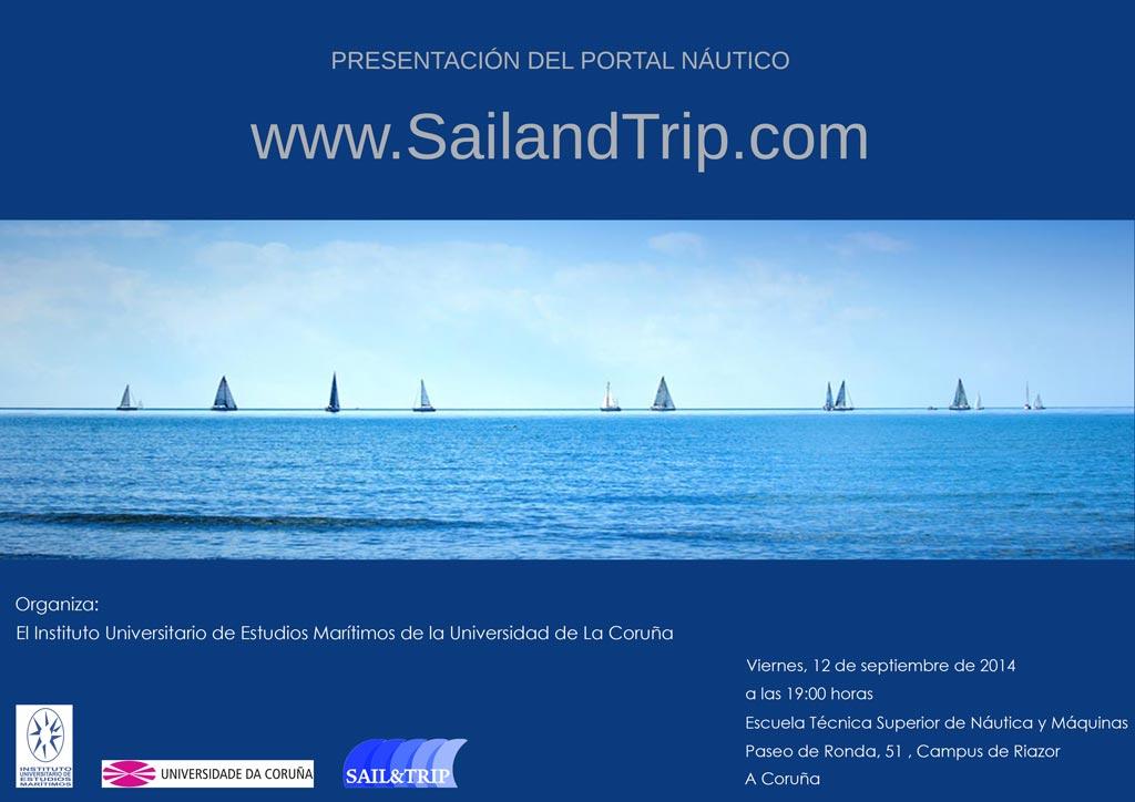 Presentación de SailandTrip en La Coruña