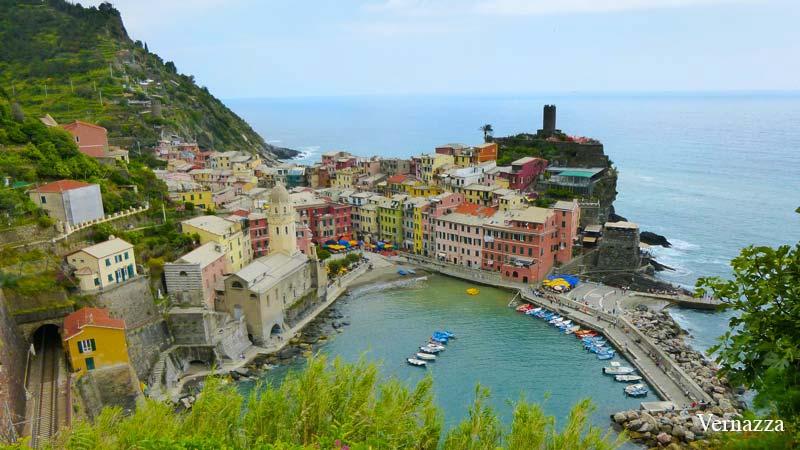 Cinque Terre Italia Vernazza