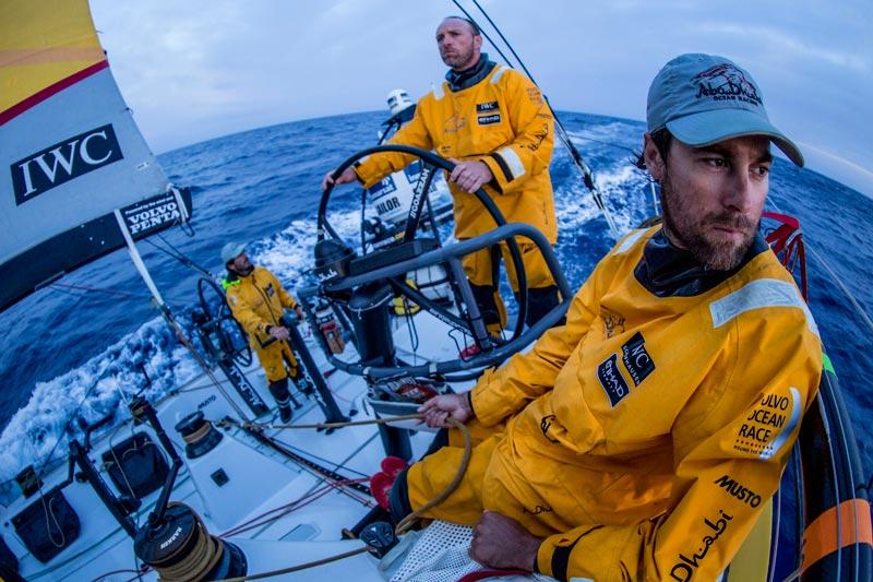 Volvo Ocean Race equipo Abu Dhabi