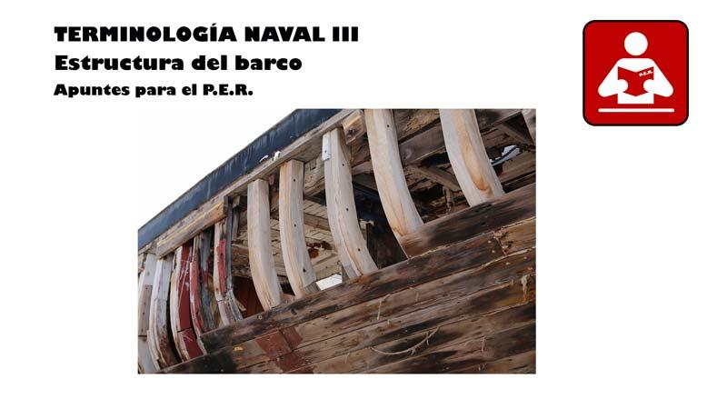 temario PER: Estructura del barco