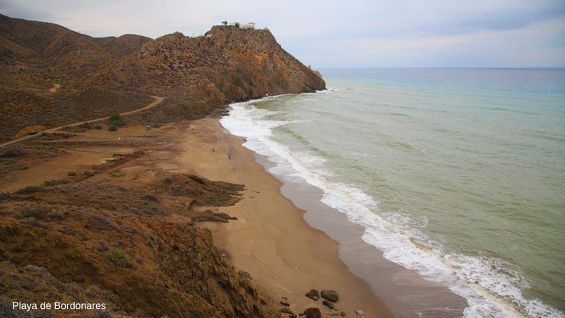 Playas de Mojácar, Playa de Bordonares