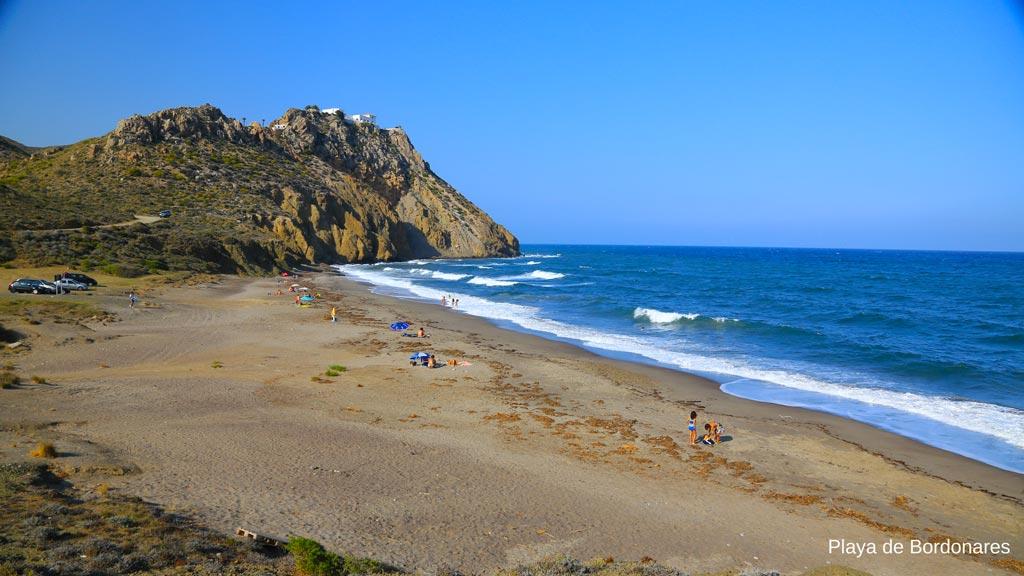 Playa de Bordonares, Mojácar