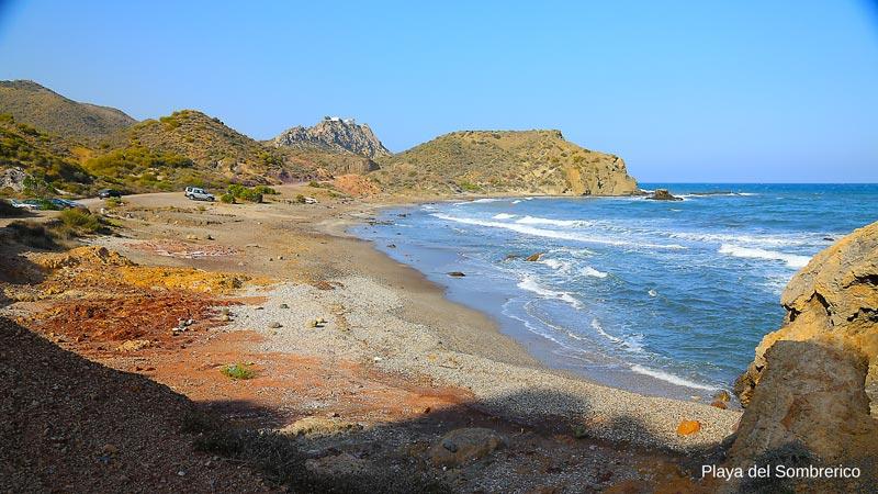 Playa el Sombrerico, Mojácar