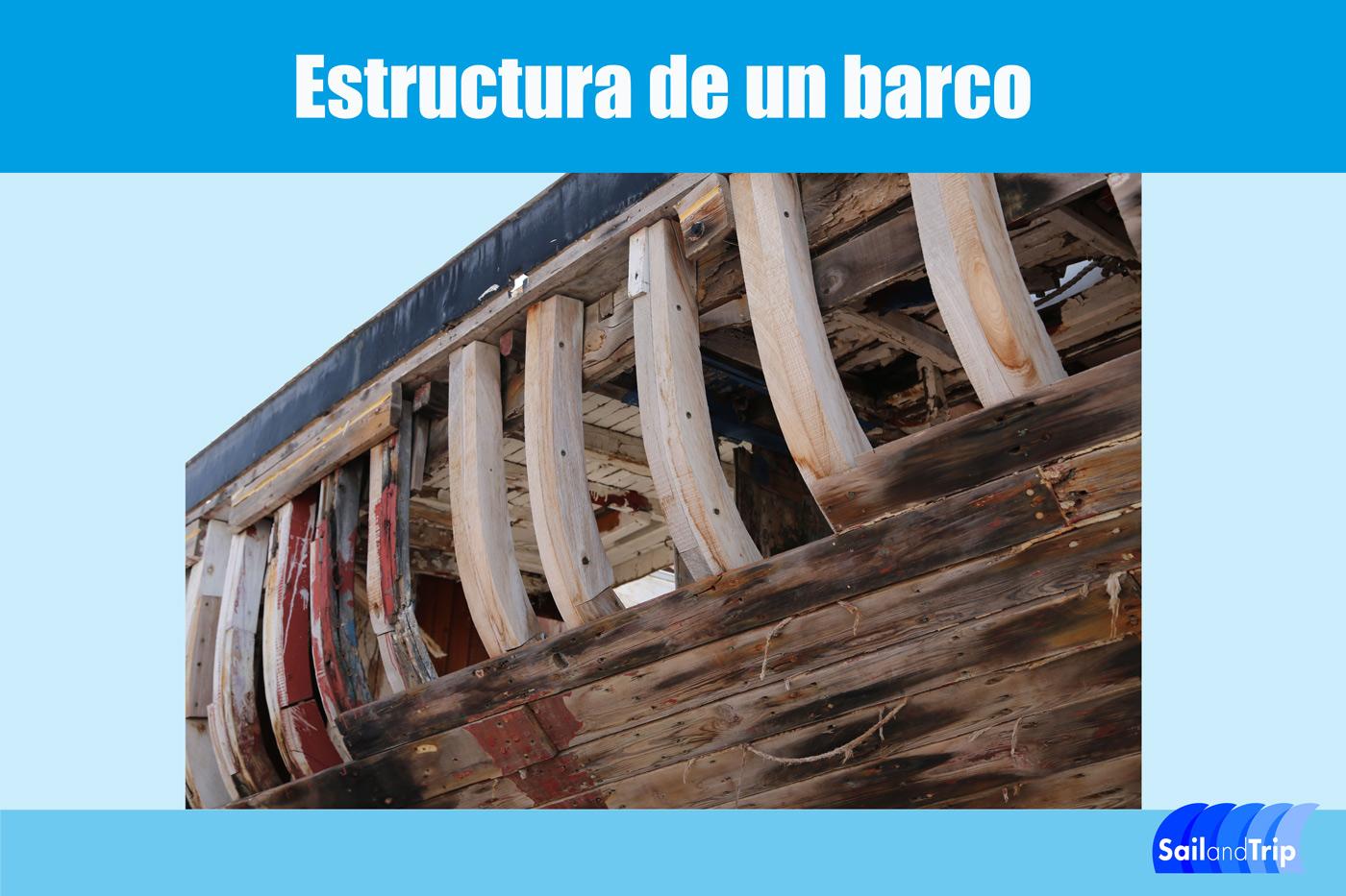 Estructura de un barco