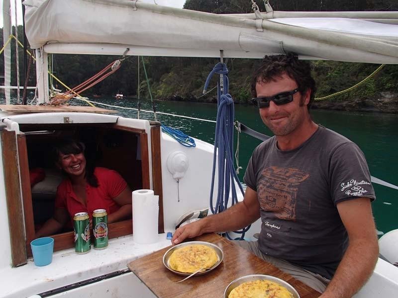 Ester y Jose en el Amazona