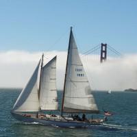 La niebla en el mar