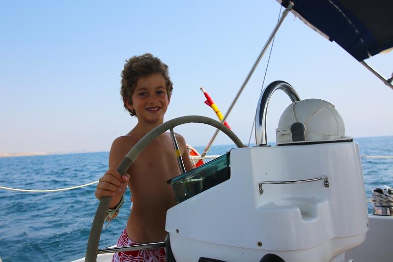 Niños a bordo