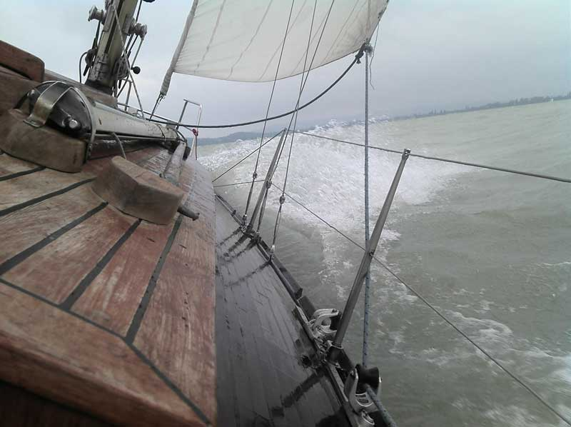 Temporal en el mar