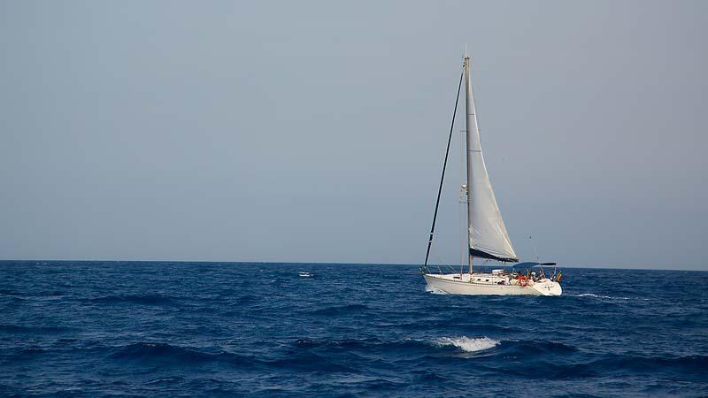 Navegando de Garrucha a Torrevieja