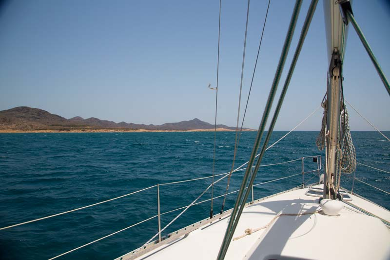 Navegando Calblanque Murcia