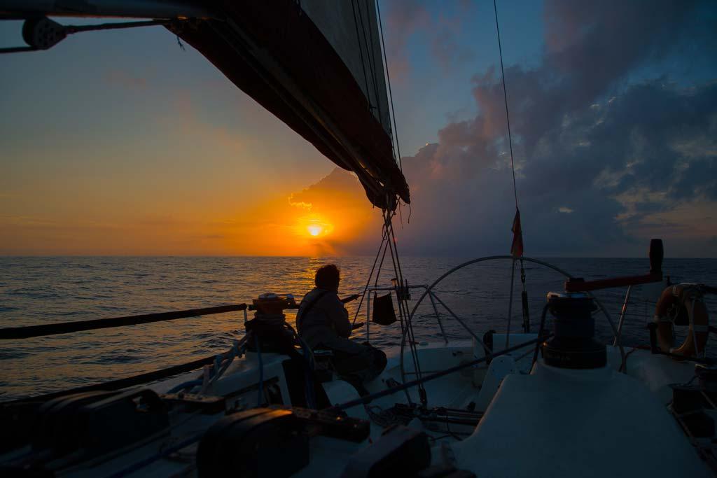 A vela de Barcelona a Menorca