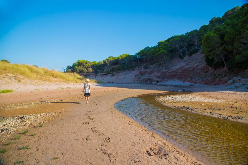 Cala Algaiarens Playa de Des Bot