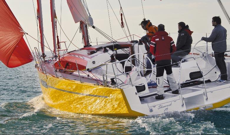 RM 1070 nominado mejor barco del año