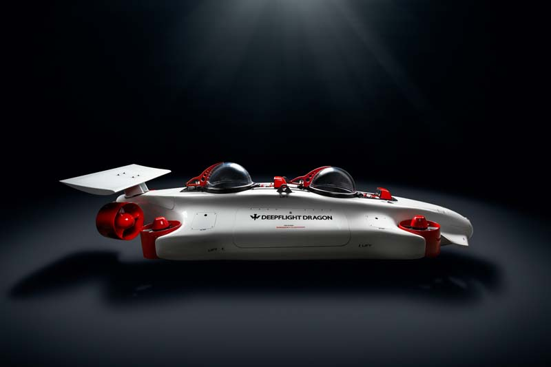 Submarino personal Deepflight