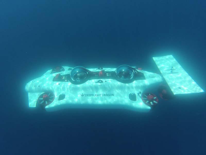 Submarino Deepflight Dragon
