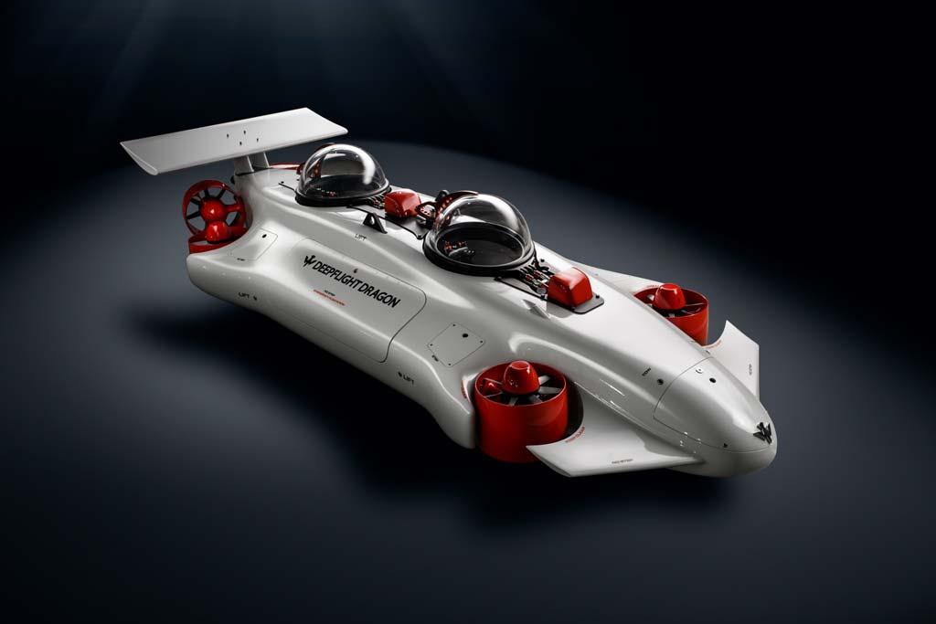 Batiscafo o submarino personal