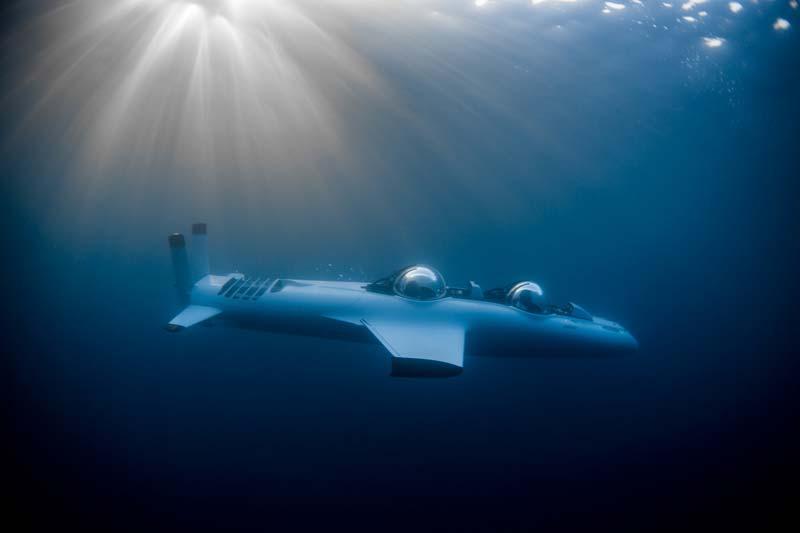 Batiscafo Super Falcon Mark II
