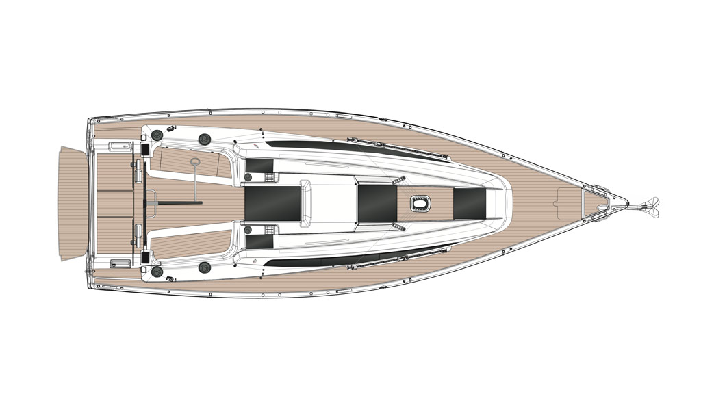 Plan del nuevo Dehler 34