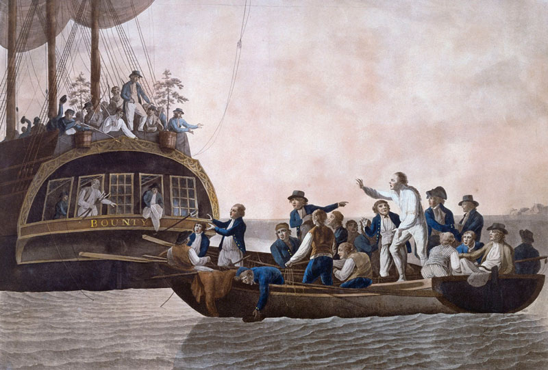 William Bligh y el HMS Bounty
