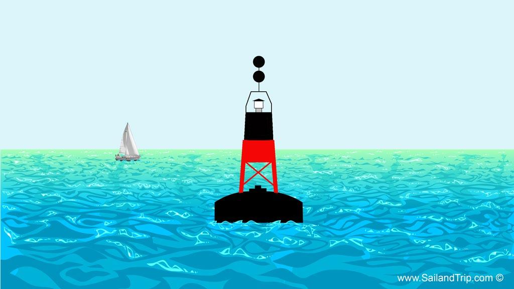 Señalización marítima: Peligro aislado
