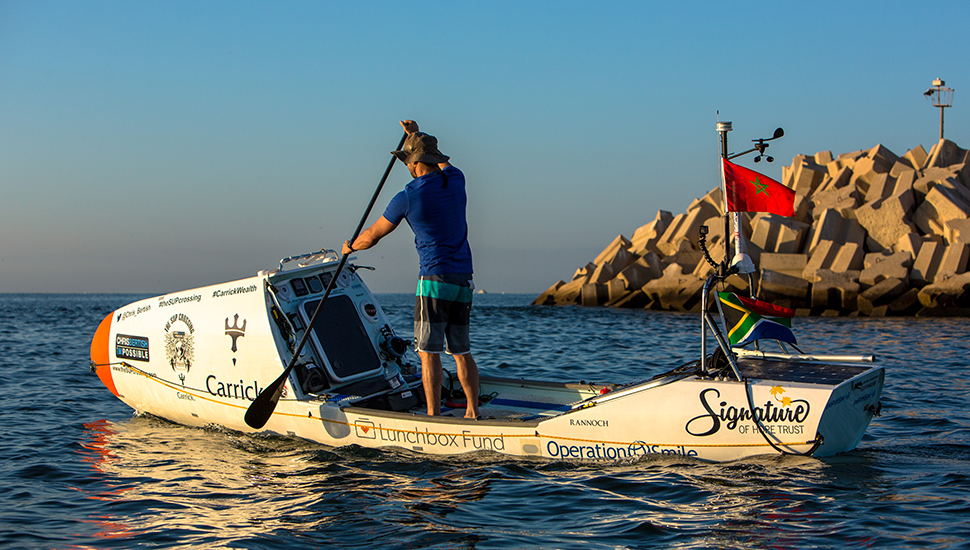 Cruzando el atlántico en Paddle Surf