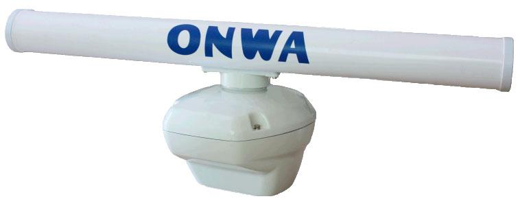 Antena radar abierta onwa