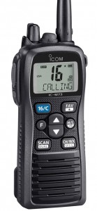 VHF portátil marino IC-M73 euro