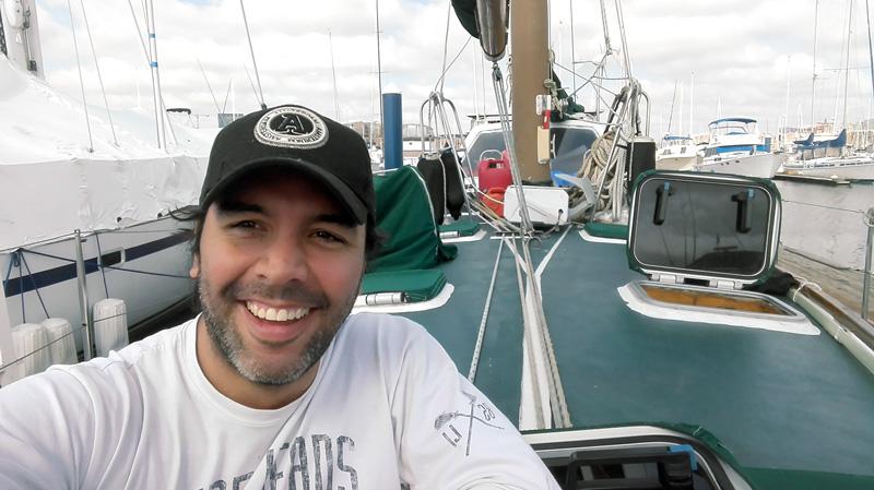 Cruce del Atlántico norte Bitácora personal