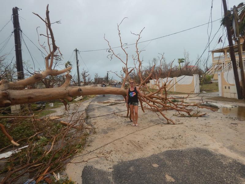 Efectos del huracán Irma