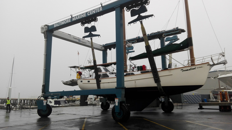 Cruce del atlántico norte velero