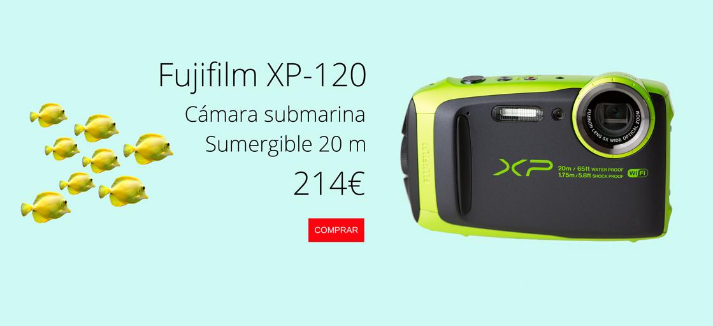 cámara Fujifilm XP 120