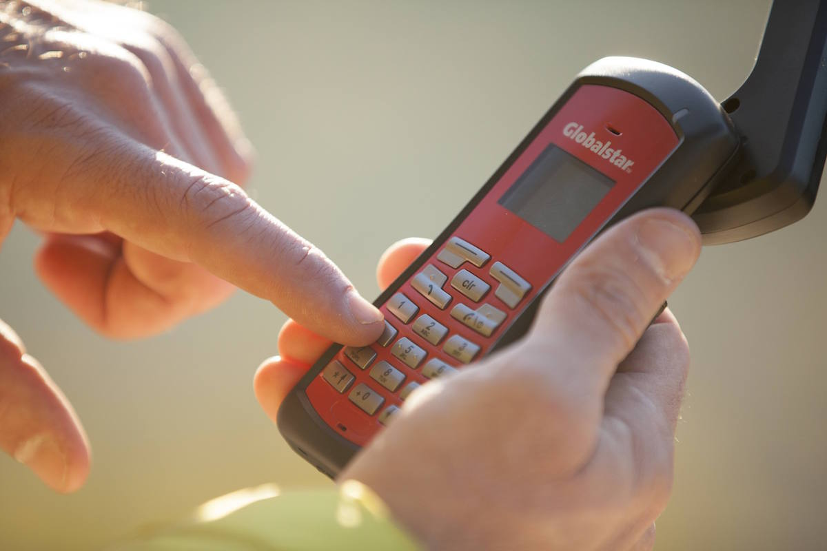 Teléfono Satelital Globalstar