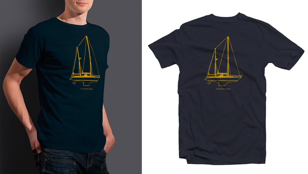 Camiseta marinera It´s all